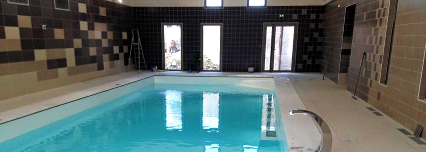 Rénovation d'un espace piscine